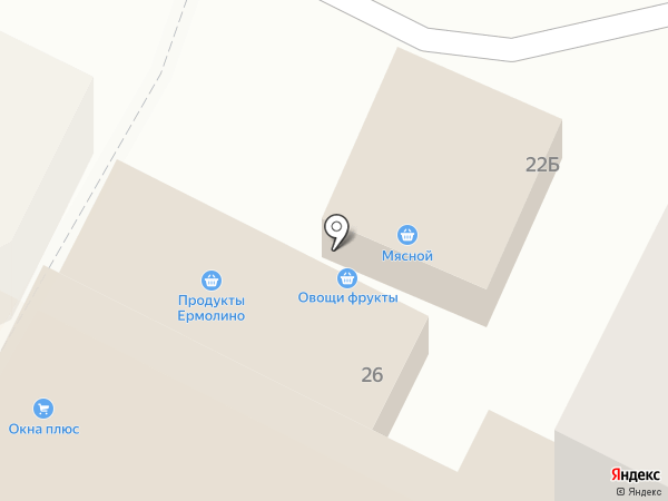 Ермолино на карте Чехова