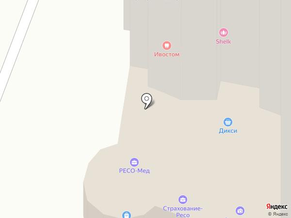 Манеки на карте Чехова