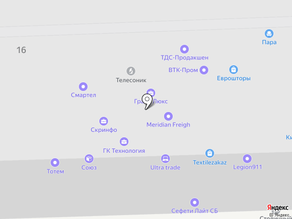 Voxcom-technology на карте Москвы