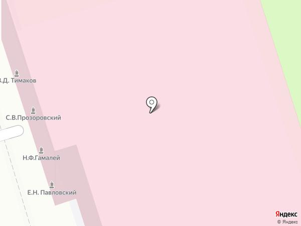 ГамаВетФарм на карте Москвы