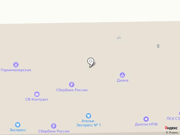 Магазин инструмента и хозяйственных товаров на карте Москвы