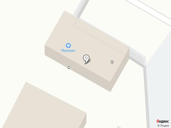 Поллус на карте Чехова
