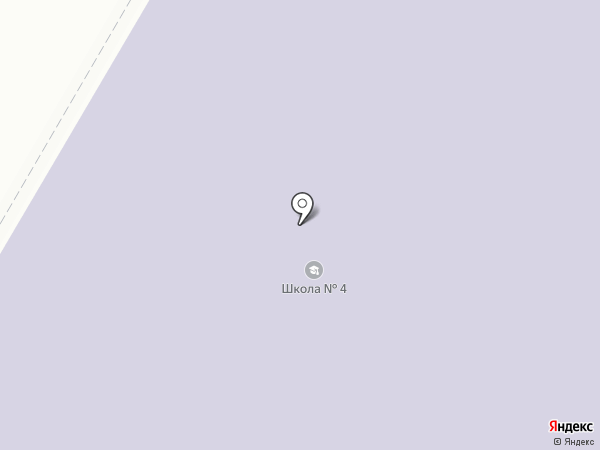 Лицей №4 на карте Чехова