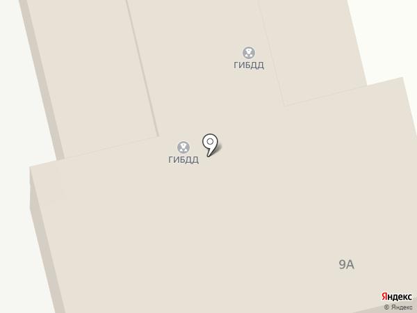Отдел ГИБДД на карте Лобни