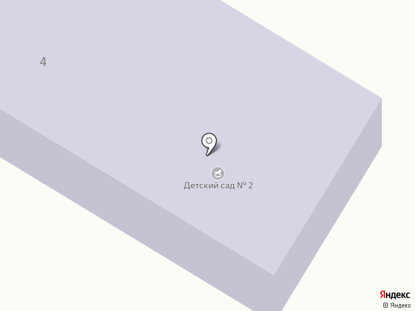 Детский сад №2 на карте Чехова