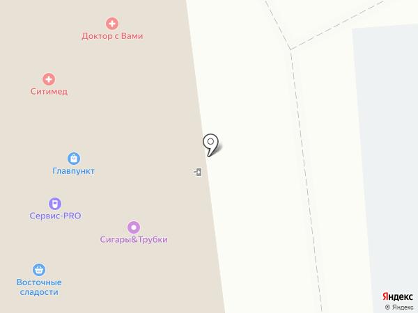 Purocigar на карте Москвы