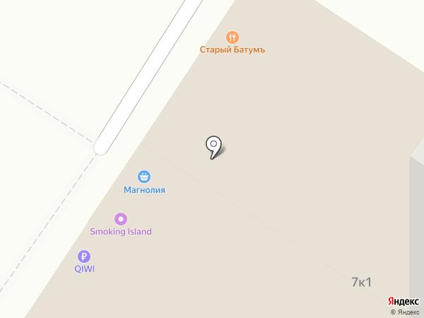 Юнова на карте Москвы