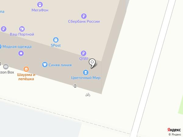 Манэки-нэко на карте Москвы