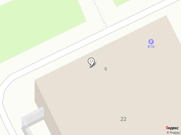 Мотов А.Ф. на карте Чехова