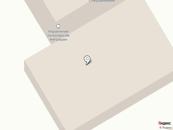 Отдел МВД России по Чеховскому району на карте Чехова