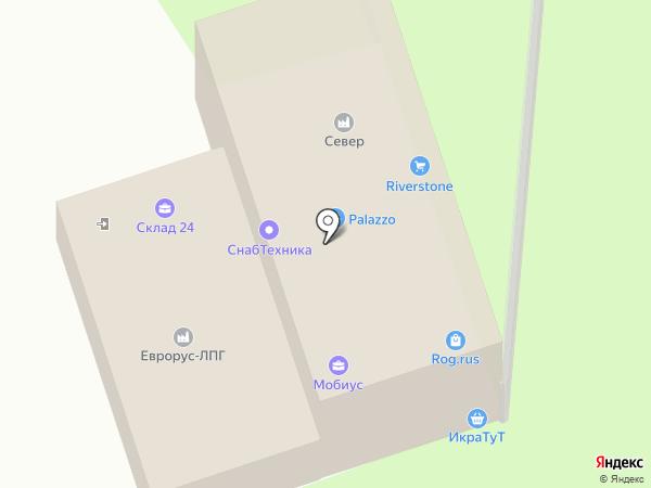 Нилина-Авто на карте Москвы