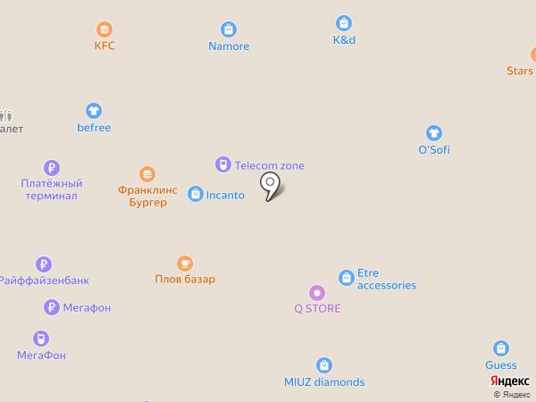 Три правила на карте Москвы