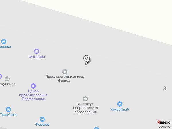 ОлимП на карте Чехова