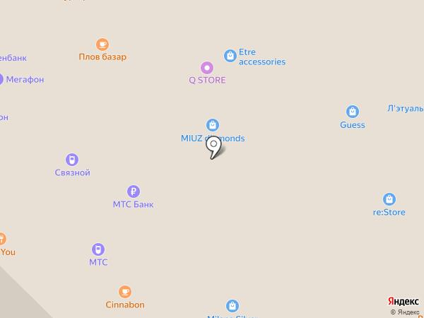 МТС на карте Москвы