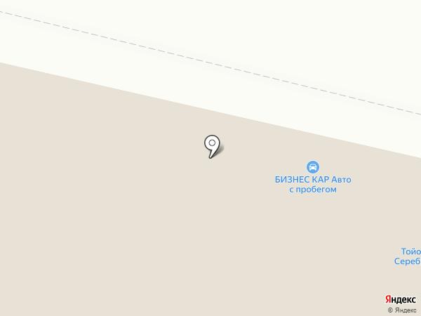 Бизнес Кар на карте Москвы