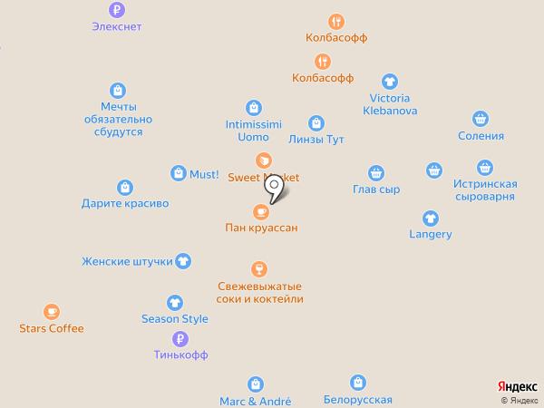 Ceano на карте Москвы