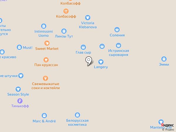 Etre на карте Москвы
