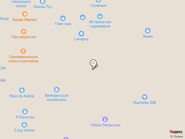 Магазин кошельков на карте Москвы