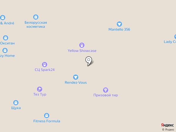 Бабушка вяжет на карте Москвы
