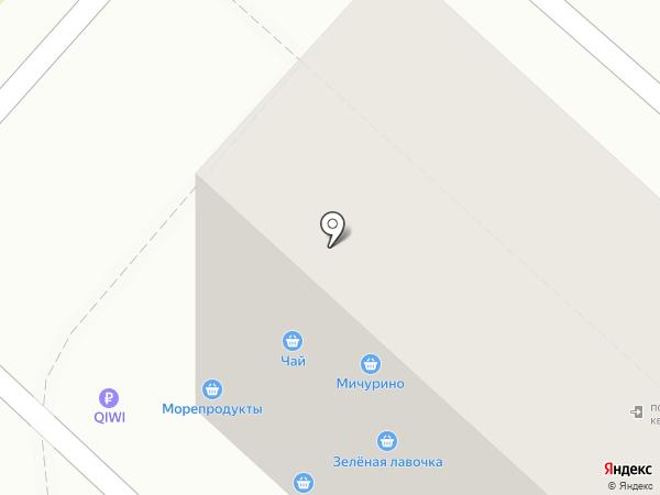 Алкомаркет на карте Москвы