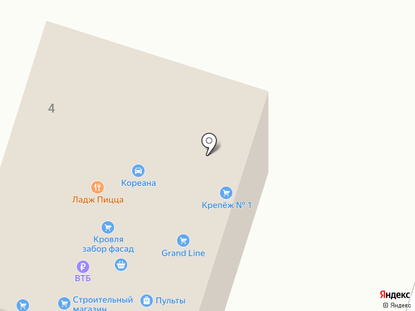 Кореана на карте Чехова