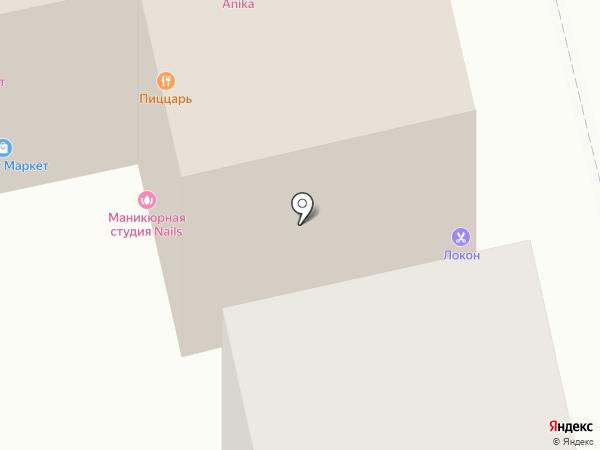 Лобня на карте Лобни