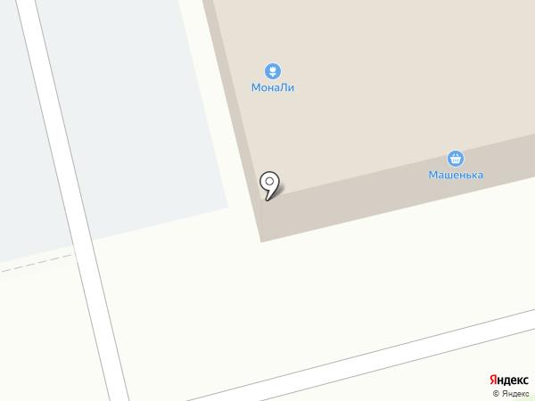Машенька на карте Лобни