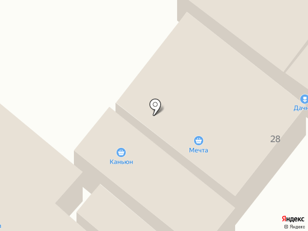Qiwi на карте Иншинского