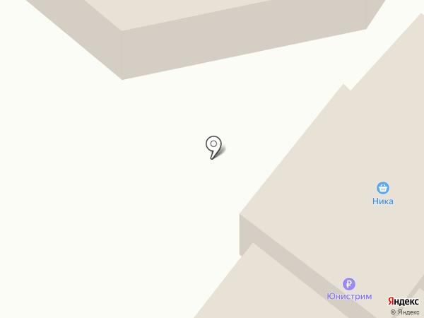 Меридиан на карте Иншинского