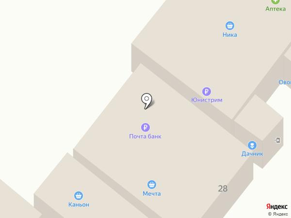 Дачник на карте Иншинского