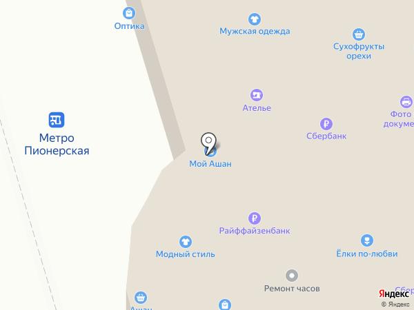 Giusto на карте Москвы
