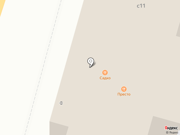 Presto на карте Чехова