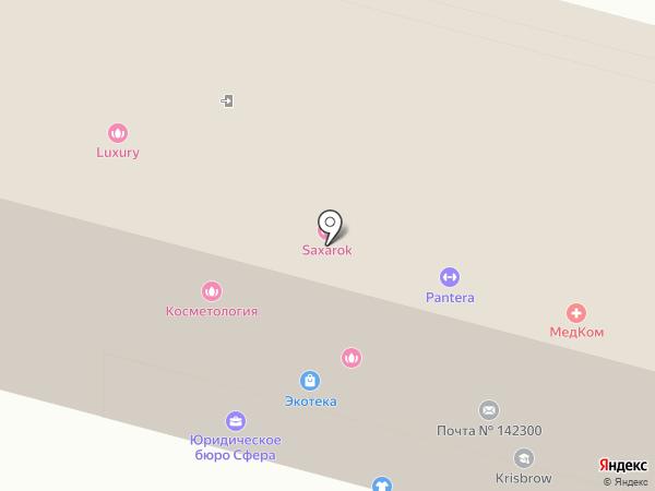Центр продаж и сервиса по Московской области на карте Чехова