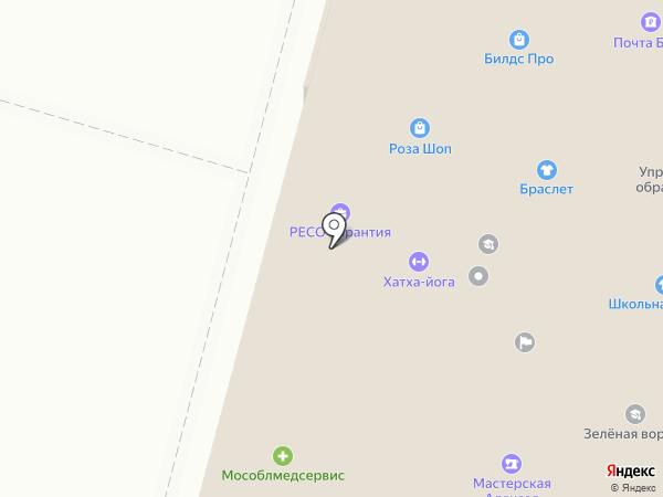 Мед Ком на карте Чехова