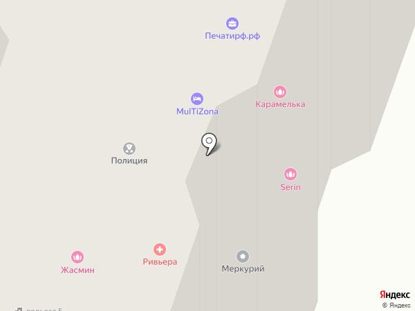 Жасмин на карте Чехова