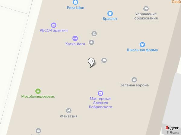 МГУПИ на карте Чехова