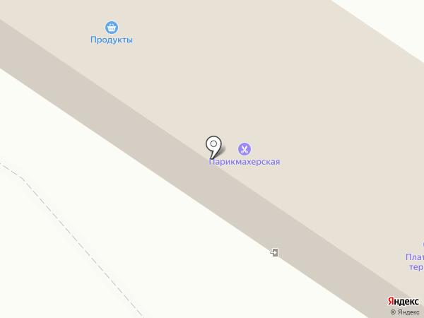 Парикмахерская на карте Иншинского