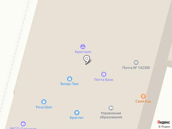 Банк Возрождение на карте Чехова