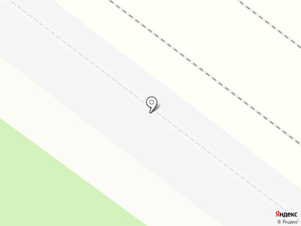 Левобережная на карте Химок