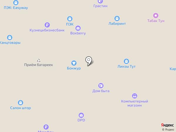 Всё для шитья на карте Москвы