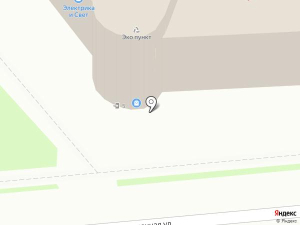 Невский на карте Лобни