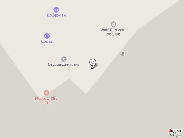 Олимп на карте Москвы