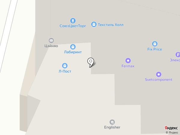VikonT на карте Москвы