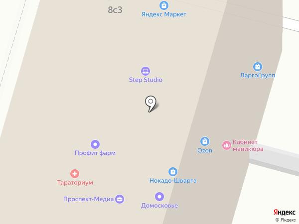 Тыква на карте Москвы
