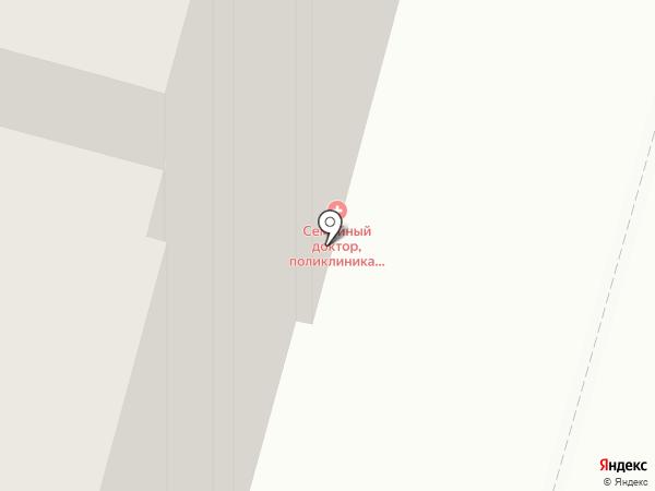 Семейный доктор на карте Москвы