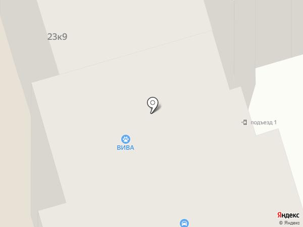 Зебра на карте Лобни