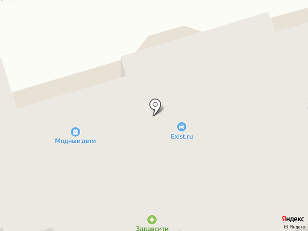 Магазин спортивных товаров на карте Лобни