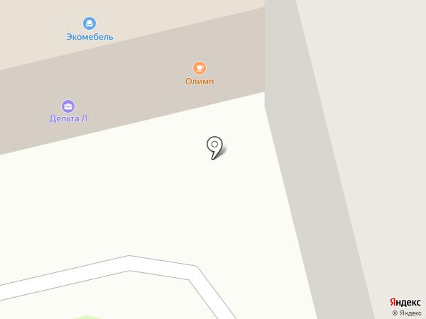 Олимп на карте Лобни