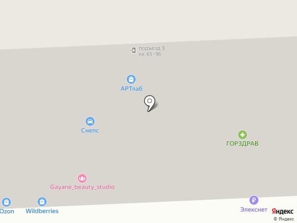 Чайка на карте Химок