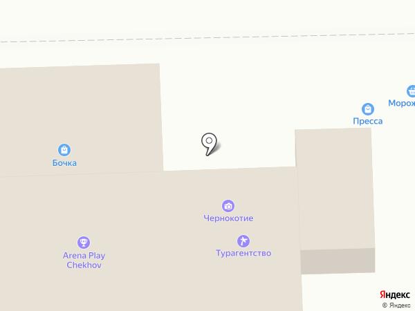 VIP на карте Чехова
